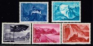 Liechtenstein Stamp 1959 Landscapes MH/OG STAMP SET