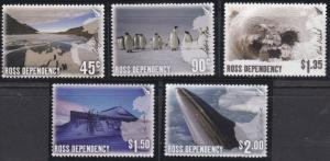 New Zealand - Ross Dependency L89-L93 MNH (2005)