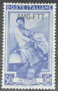 DYNAMITE Stamps: Trieste Scott #103 - UNUSED