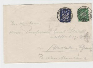 germany  1925 stamps cover   ref r13553