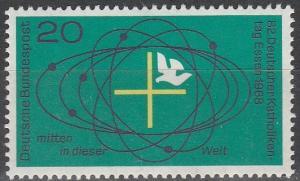 Germany #989  MNH F-VF  (SU4932)