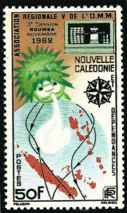 New Caledonia1962 #322 F-VF MNH...Fill in a High Value Spot!