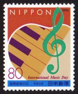 Japan #2540  mnh - 1996 International Music Day