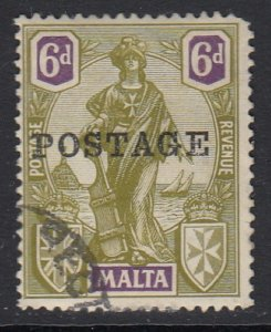 Malta Sc 124 (SG 151), used