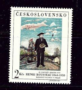 Czechoslovakia 1484 MNH 1967 Painting
