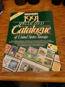 Scott 1991 Specialized Catalogue Of U.S. Stamps