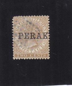 Malaya Federated States: Perak: Sc #4, Used (35511)