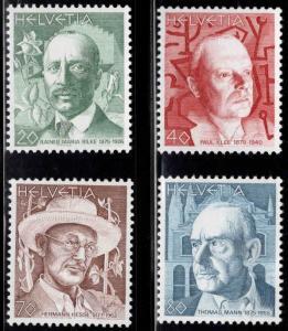 Switzerland Scott 667-670 MNH** 1979 stamp set