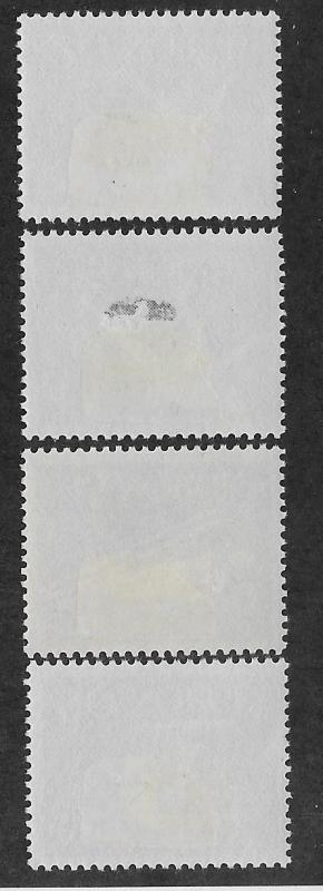 NORWAY SC# 389-92  FVF/MOG 1961