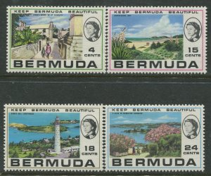 STAMP STATION PERTH Bermuda #276-279 General Issue MLH CV$5.00