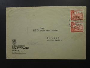 Germany SC# B152 (x2) On Commercial Cover - Z5716