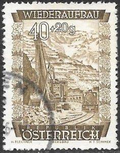 Austria Semi-Postal Scott # B228 Used. Free Shipping for All Additional Items.