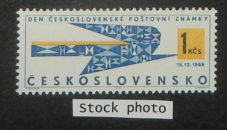 Czechoslovakia 1440. 1966 Stamp Day, NH