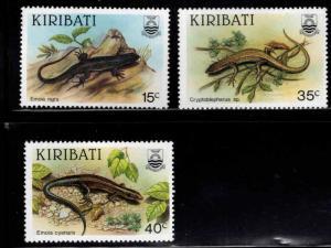Kiribati Scott 491-493  MNH** short set
