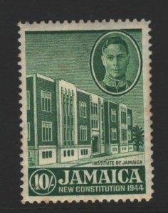 Jamaica Sc#135 MH - toning