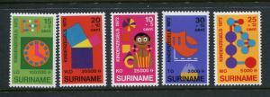 Suriname #B187-91 MNH