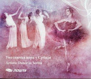Serbia 2019 MNH Artistic Dance 4v M/S Booklet Cultures Arts Ballet Stamps