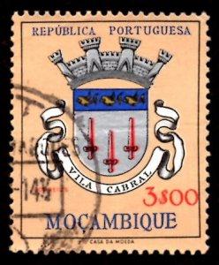 Mozambique 1961 Vila Cabral, Coat of Arms 3e Scott.416 Used (#3)