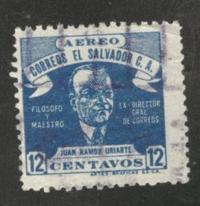 El Salvador Scott C97 Used stamp