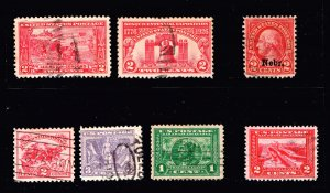 US STAMP 1920 -30 USED STAMPS COLLECTION LOT  #S2