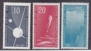 DDR #370-372 MNH CV$2.50