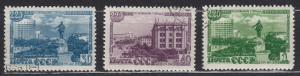 Russia - 1948 Sverdlovsk Sc# 1307/1309 - (1235)