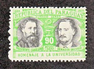 Paraguay Scott #C123 MH