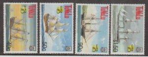 Tuvalu Scott #790-793 Stamps - Mint NH Set