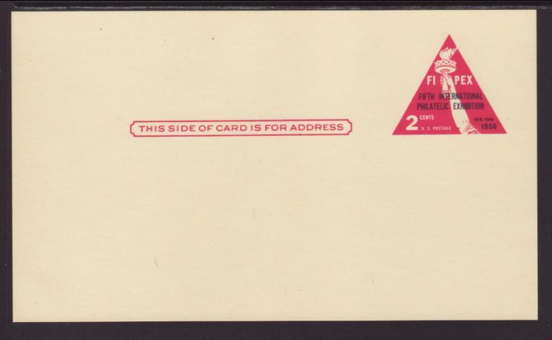 US UX44 Fipex Postal Card Unused