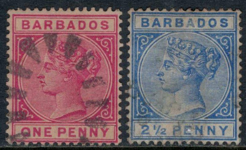Barbados #61-2  CV $3.05