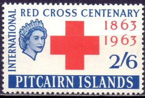 Pitcairn Islands. 1963. 38. Red Cross. MLH.