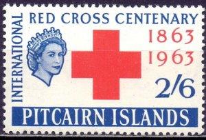 Pitcairn Islands. 1963. 38. Red Cross. MLH.
