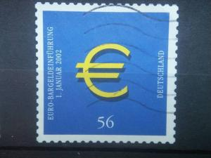 GERMANY, 2002, used 56c, Euro, Scott 2144