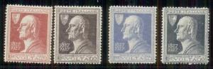 ITALY #188-91 Mint Never Hinged, Scott $50.00