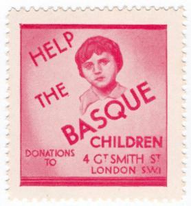 (I.B) Cinderella Collection : Help The Basque Children (Spanish Civil War)