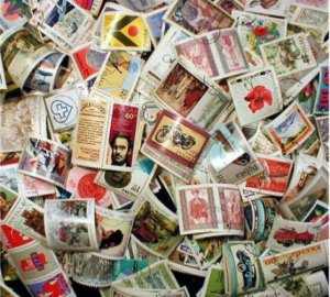 Poland Stamp Collection - 1,000 Different Stamps