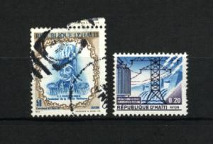 Haiti # 411, RA39 used  PD