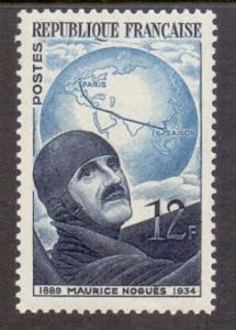 France 1951  MNH   aviator Nogues complete