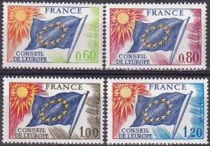 France #1o16-19  F-VF Unused CV $6.85 (Z3283)