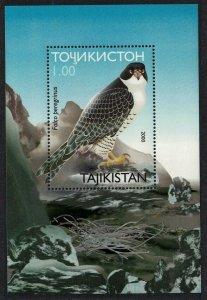 2001 Tajikistan 176/B21 Birds of prey