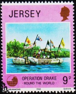 Jersey. 1980 9p S.G.239 Fine Used
