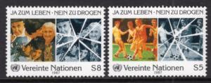 UN Vienna 70-71 MNH VF