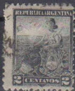 ARGENTINE, 1899, used 2p. ?Liberty? and Shield