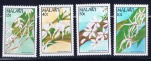 Malawi 578-81 NH 1990 Orchids