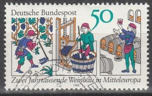 Germany #1338  F-VF Used    (S6984)