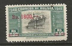 BOLIVIA C194 VFU S84
