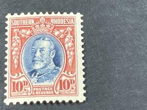 SOUTHERN RHODESIA # 25-MINT/HINGED---SINGLE---1931-37