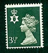 Northern Ireland - #NIMH3 Machin Queen Elizabeth II - MNH