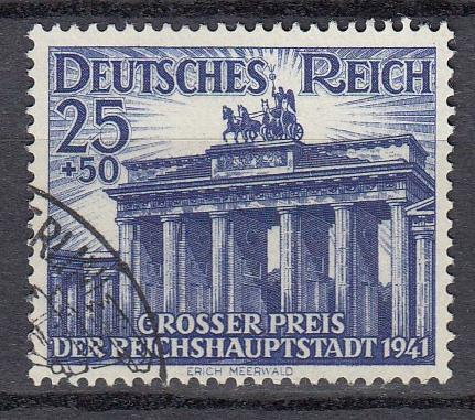Germany - 1941 Brandenburg Gate Sc# B193 - Used (789)