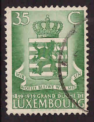 Luxembourg Scott 206 Used stamp